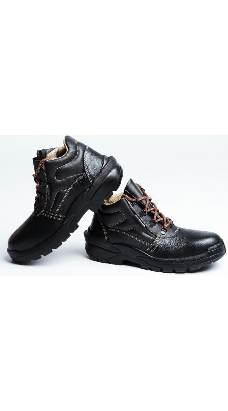 Ботинки кожаные СТИКС ПУ