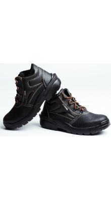Ботинки кожаные СТИКС PU утепленные с МП