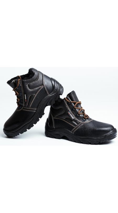 Ботинки кожаные СТИКС PU утепленные