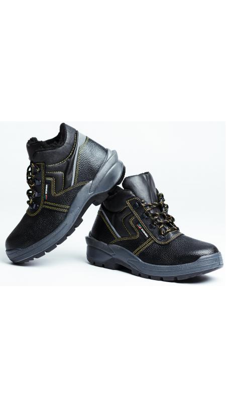 Ботинки кожаные утепленные PROFI