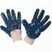 Перчатки нитриловые полуобливные манжет-резинка, ПЕРЧАТКИ
