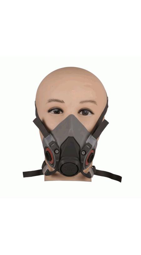 Респиратор-полумаска 3М серии 6000, Защита ДЫХАНИЯ