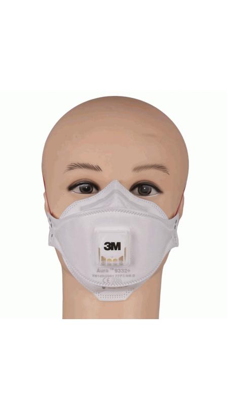Респиратор 3М 9332, Защита ДЫХАНИЯ