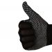 Нейлоновые перчатки с ПВХ покрытием микроточка, ПЕРЧАТКИ